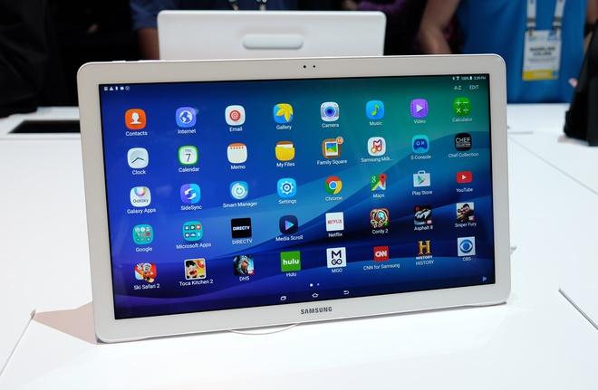 Máy tính bảng màn hình 18,4 inch, nặng hơn laptop