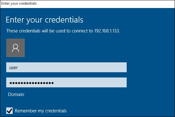 nhập username (tên người dùng) và password (mật khẩu)